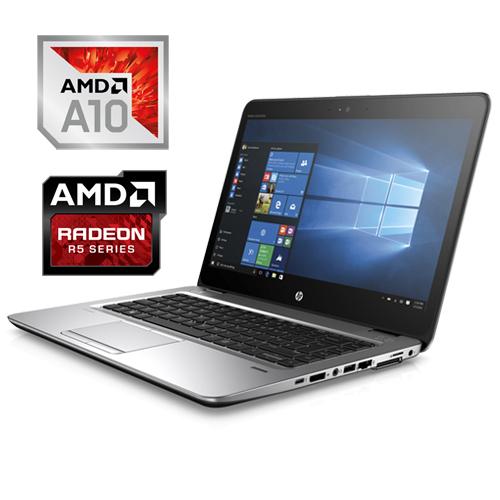 HP ELITEBOOK 745 G4 AMD PRO A10-8703B 256GB SSD 8GB AMD R5 14″ FULL-HD W10