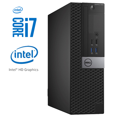 DELL OPTIPLEX 7040 SFF INTEL CORE I7-6700 512GB m.2 SSD 16GB W10 PRO