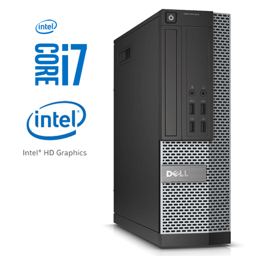 DELL OPTIPLEX 9020 SFF INTEL CORE I7-4790 256GB SSD 8GB DVD-RW W10 PRO