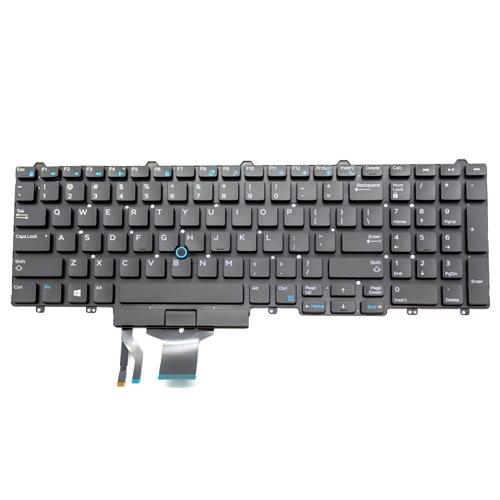 Partij 35x Dell Latitude E5550 Keyboard, 14 Dagen Testgarantie