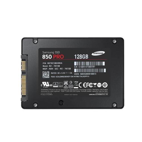 128GB SSD 2,5″ inch. Samsung 850 PRO