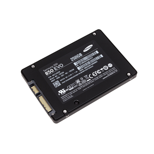 250GB SSD 2,5″ inch. Samsung EVO 850