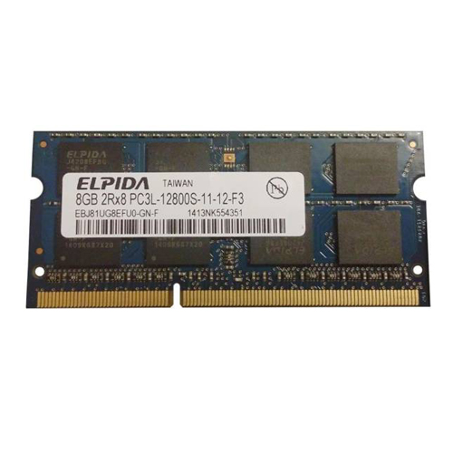 8GB Elpida DDR3L 12800S 1600MHz Notebook