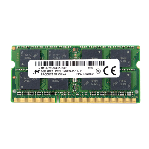 8GB Micron DDR3L 12800S 1600MHz Notebook