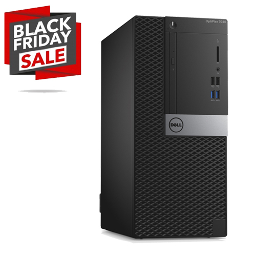 DELL OPTIPLEX 7040 MT INTEL CORE I5-6500 256GB SSD 8GB DVD-RW W10 PRO