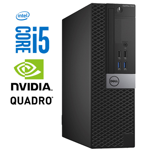 DELL OPTIPLEX 3040 SFF INTEL CORE I5-6500 256GB SSD 8GB QUADRO NVS310 W10 PRO