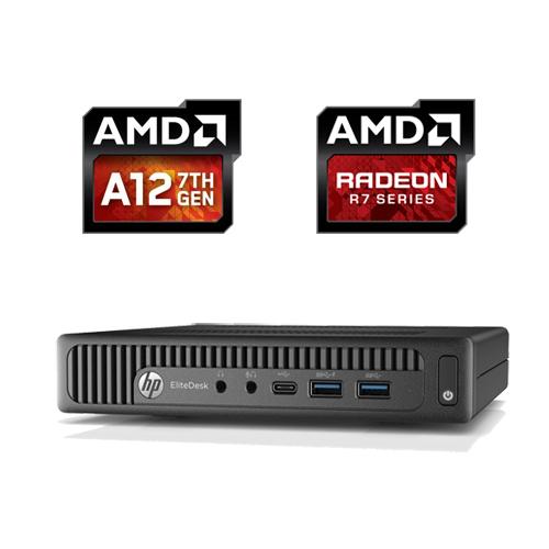 HP EliteDesk 705 G2 MINI AMD A12-8800B 256GB SSD 8GB RADEON R7 W10 PRO