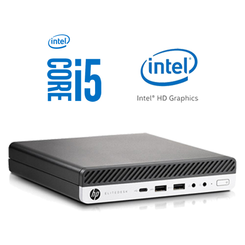 HP EliteDesk 800 G3 MINI INTEL CORE I5-7500T 256GB SSD 8GB W10 PRO