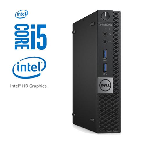 DELL OPTIPLEX 3040M MICRO INTEL CORE I5-6500T 256GB SSD 8GB W10 PRO