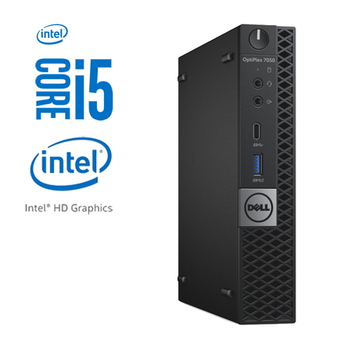 DELL OPTIPLEX 7050M MICRO INTEL CORE I5-6500T 256GB M.2 SSD 8GB W10 PRO