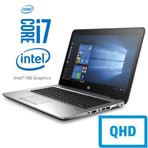 HP ELITEBOOK 840 G3 INTEL CORE I7 6500U 256GB SSD 8GB 14″ QHD IPS W10 PRO