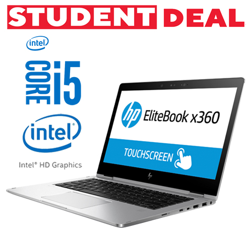 HP ELITEBOOK X360 1030 G2 INTEL CORE I5 7300U 256GB SSD 8GB 13,3