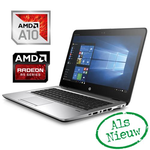 DEMO! HP ELITEBOOK 745 G4 AMD PRO A10-8703B 512GB SSD 8GB AMD R5 14″ FULL-HD W10