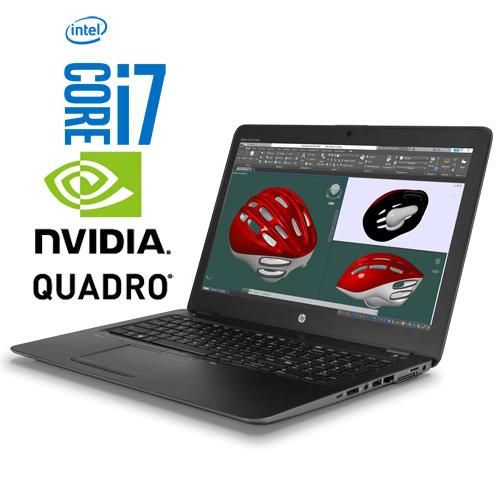 HP Zbook 15 G3 Intel Core i7 6820HQ | 512GB SSD | 16GB | M2000 4GB | 15,6″ FHD | W10 PRO