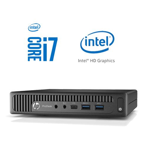 HP ProDesk 600 G2 Mini Intel Core i7-6700T | 256GB SSD | 8GB | W10 PRO